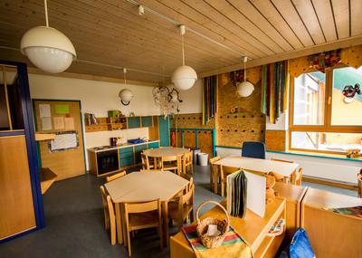 Beispiel für Gruppenraum Kindergarten