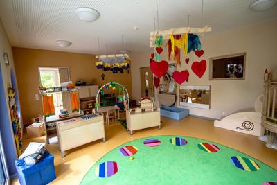 Gruppenraum Kinderkrippe
